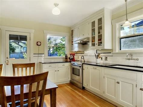 period kitchen design finished period kitchen 1925 craftsman bungalow white 1467