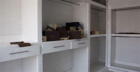 mensole in cartongesso fai da te cabina armadio fai da te da letto e ripostiglio