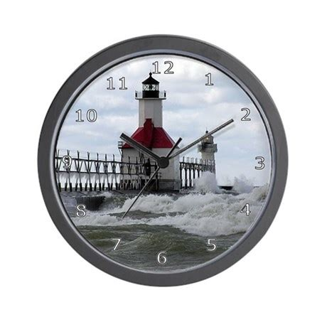 st joseph lighthouse wall clock by cool pics