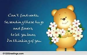 I'm Thinking of You... Free Sympathy & Condolences eCards ...