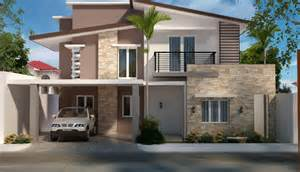 two house designs two storey residential house home design