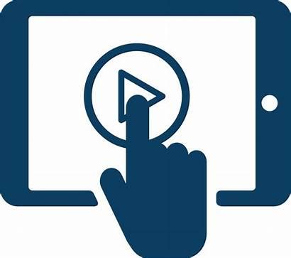 Clipart Touchscreen Easy Symbol Seminar Touch Icon