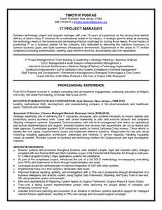 Senior Project Manager Resume Samples