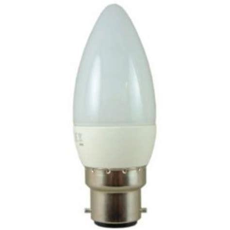 4 watt bc b22 dimmable led candle light bulb