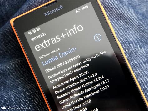 lumia phones getting extras info update changes unknown windows central