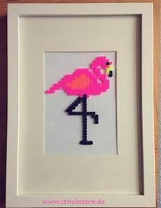 Bügelperlen Wie Bügeln : b gelperlen bild flamingo deko einfach selbermachen ~ Yasmunasinghe.com Haus und Dekorationen