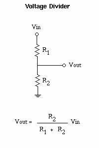 0 24 v analog voltage conversion to 0 5v digital With voltage divider