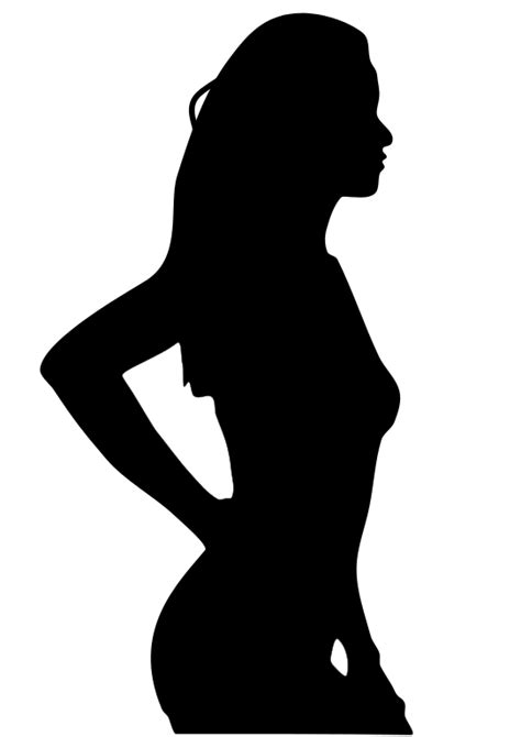 File:Silhouette of Woman in Bikini.svg - Wikimedia Commons