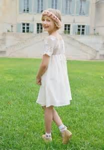 robe mariage fillette robe demoiselle d 39 honneur bohème enfant pour mariage