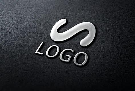 Logo Mockup 3d Chrome Logo Mockup