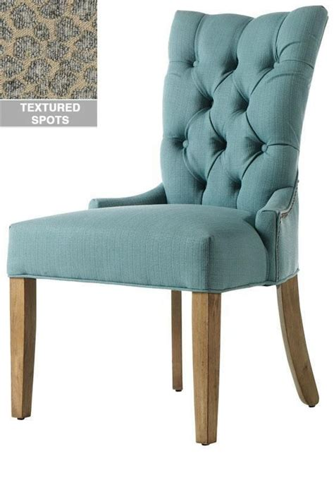 custom button tufted back dining chair j