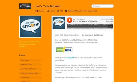 The andreas antonopolous led 'let's talk bitcoin' podcast has become quite popular over the past couple of years. The best podcasts to know more about Bitcoin