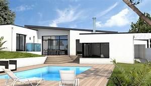 Idée Construction Maison : id e relooking cuisine constructeur maison moderne auray ~ Premium-room.com Idées de Décoration
