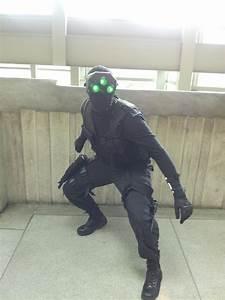 [Photographer] Splinter cell, his goggles were actually ...