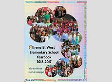 201617 Yearbooks Irene B West Elementary School
