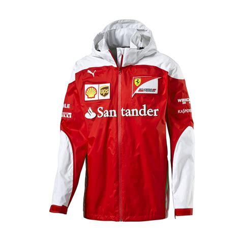 Fan Wear Scuderia Ferrari F1 Replica Mens Jacket