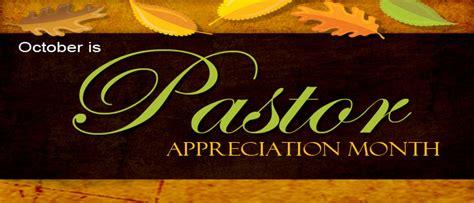 pastor appreciation month october parenting  scripture