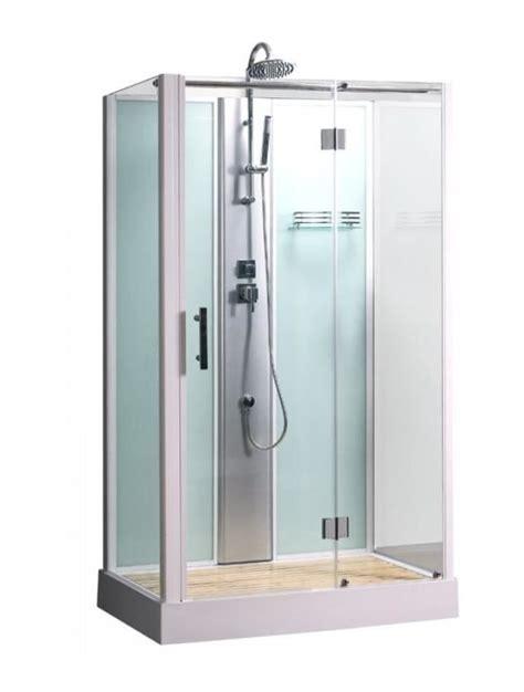 cabine de integrale rectangulaire poseidon 80x120 cm