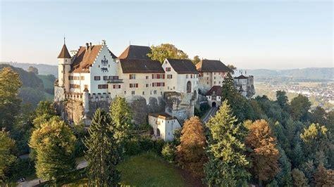 lenzburg castle  knights  dragons switzerland