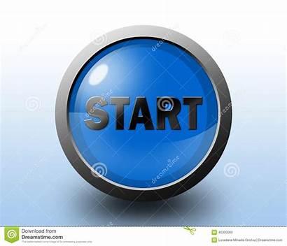 Start Icon Button Glossy