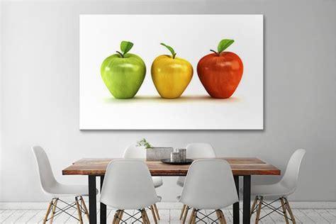 tableau de cuisine moderne tableau déco pommes izoa