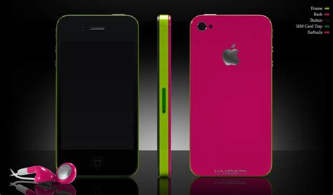 iphone customization colorware impresses with new iphone 4 customization