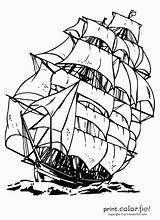 Ship Clipper Coloring Drawing Printables Ships Sailing Crafts Printable Boat Pyrography Adult Printcolorfun Sheets Century Puzzles Clipart Vogue 19th Eau sketch template
