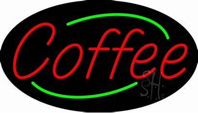 Neon Sign Coffee Signs Animated Every