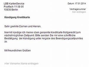 Wohnung Kündigen Per Email : lbb kreditkarte k ndigen vorlage download chip ~ Lizthompson.info Haus und Dekorationen