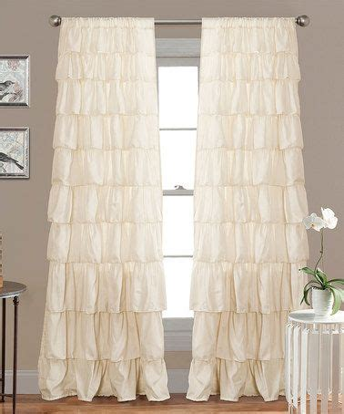 ivory ruffle blackout curtains 39 best images about curtain decisions on