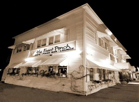 The Porch Bar by The Front Porch Piano Bar Restaurant Ogunquit Menu