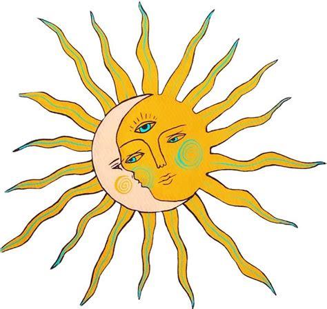Sun and Moon | Hippie painting, Art, Hippie art