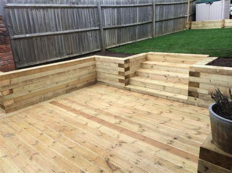 Wooden Retaining Wall Ideas