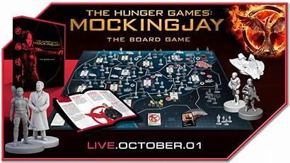 Hunger Games Board Mockingjay River Horse Kickstarter