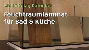 Laminat Fürs Bad : wineo feuchtraumlaminat auch f r k che bad durch das aqua protect system youtube ~ Watch28wear.com Haus und Dekorationen