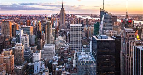 new york city sunset hd 4k ultra hd wallpaper macbook