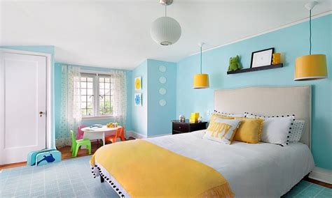 Yellow And Blue Bedrooms, Bedroom Colors For Kids Room