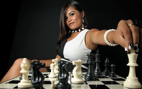 women model brunette long hair asian black white