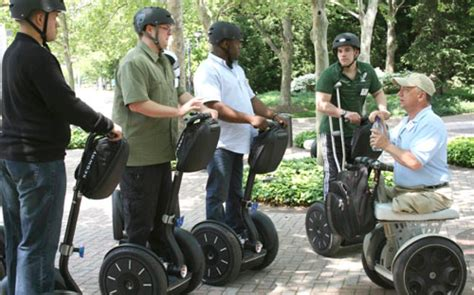 wounded veterans  segways  increase mobility quality