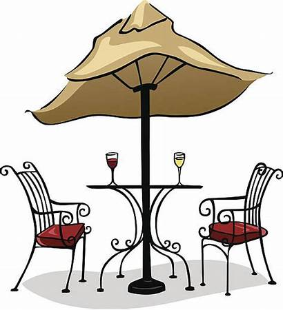 Dining Outdoor Vector Coffee Cafe Clip Wine