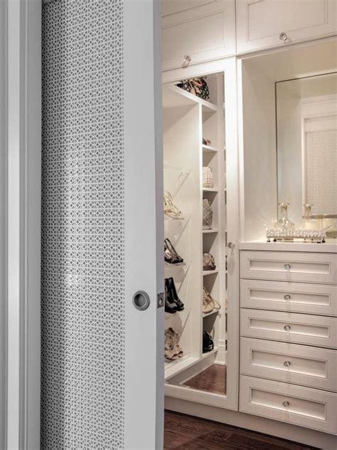 gorgeous walk in master closet with pocket slide doors