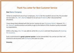 Thank You Notes Job Interview Customer Thank You Letter 5 Best Samples And Templates