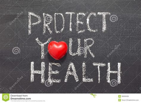Protect your health stock photo Image of protect