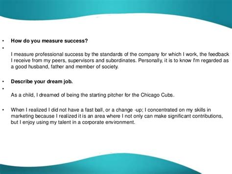 what are your professional goals describe your career goals interview answer