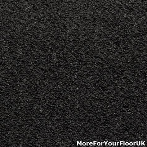 anthracite black grey hardwearing feltback carpet