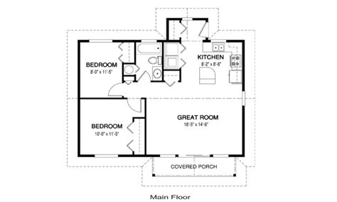 simple house floor plan simple affordable house plans