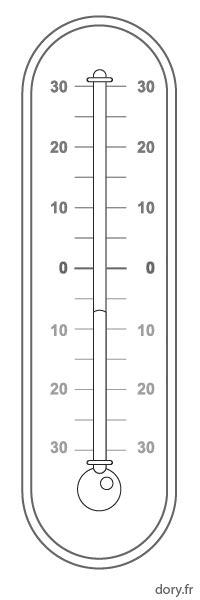 dessiner un plan de cuisine dessin à imprimer un thermomètre à mercure dory fr