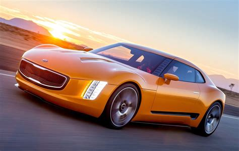 Kia Gt4 Stinger Concept  Reardriven 2+2 Sports Car