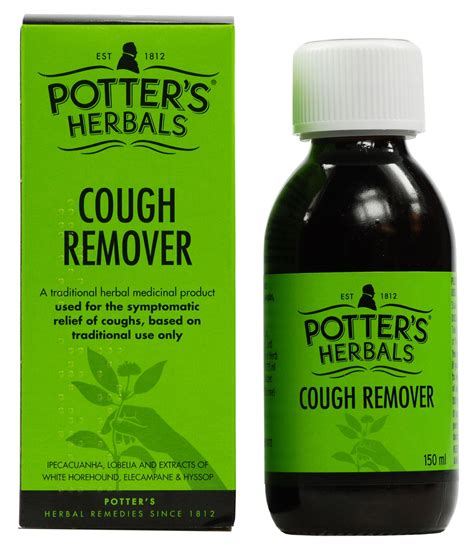 Buy Potters Herbal Cough Remover 150ml Online Chemistcouk