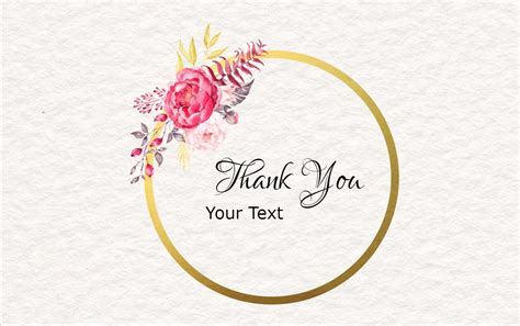 thank you card template maker free note card maker